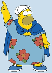 fat finger Homer